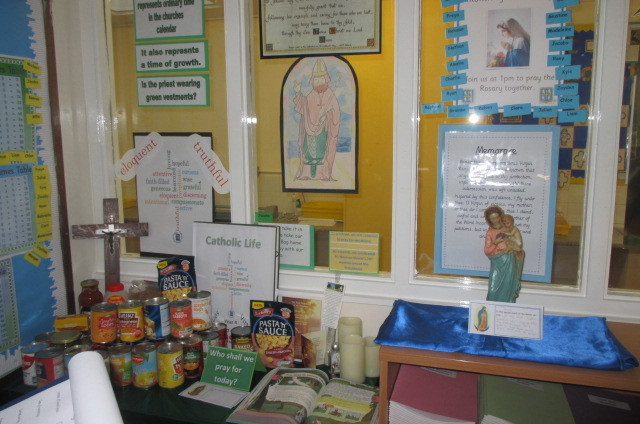 St Cuthbert's Rc Junior And Infant (nc) School - Prayer