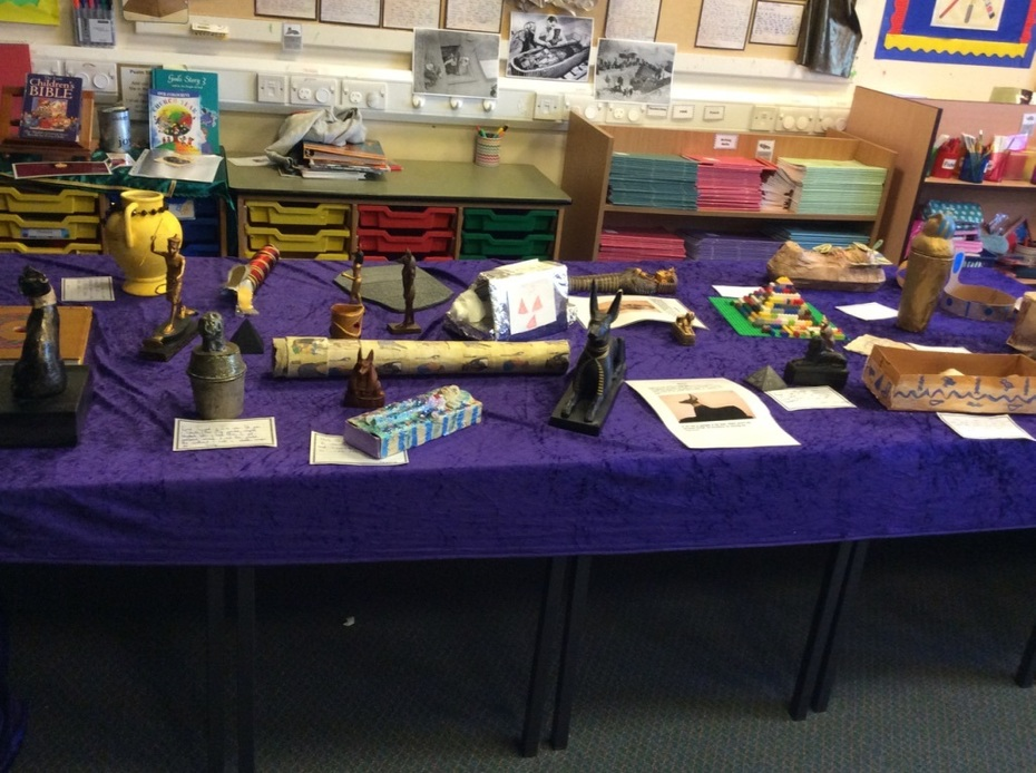 Year 3 Ancient Egypt Musuem Day