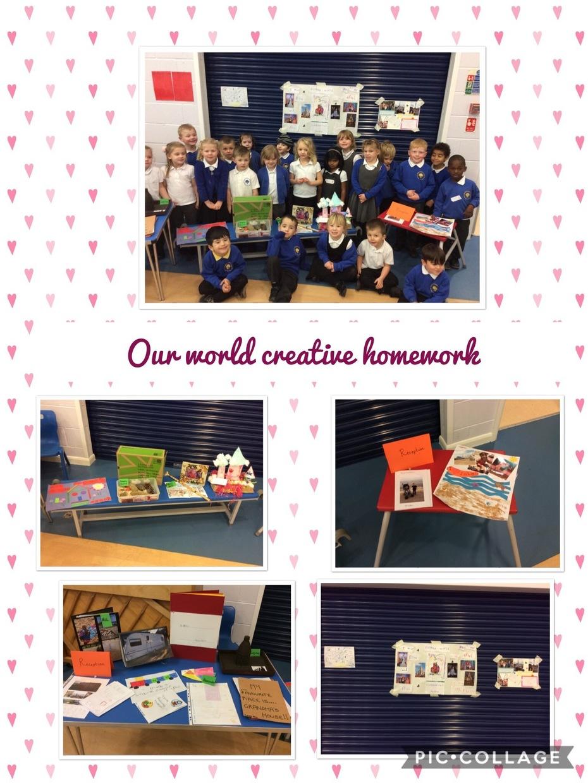 Our world homework