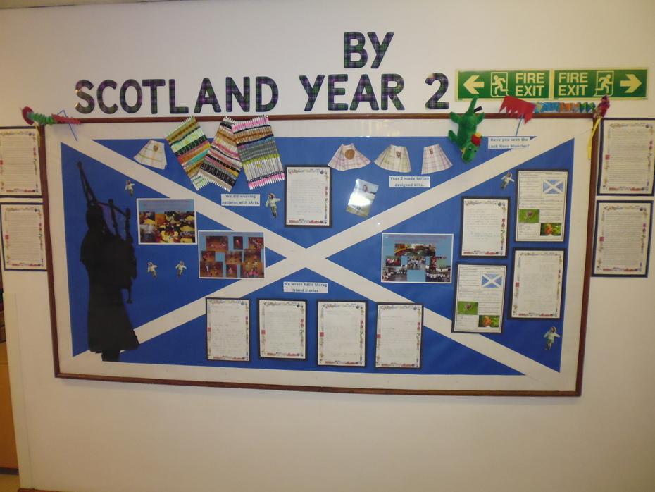 Year 2 Scotland Display