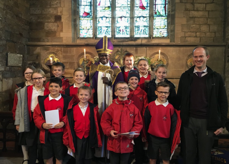 LEH pupils meet Archbishop of York