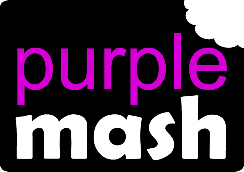 link to Purple Mash website