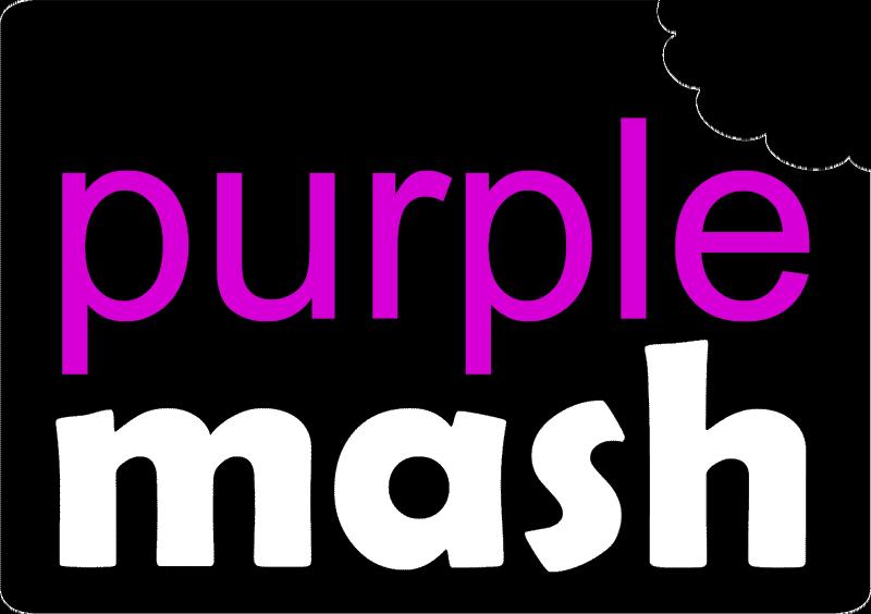link to Purple Mash website