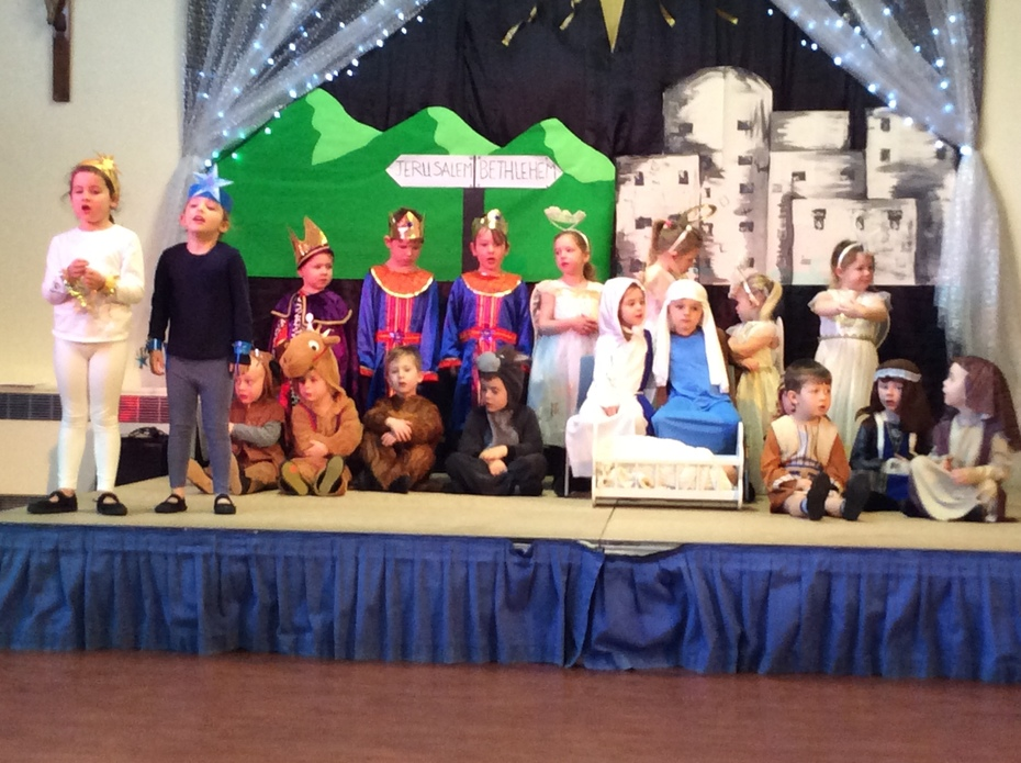 Foundation Stage Nativity - 'The Little Blue Star'
