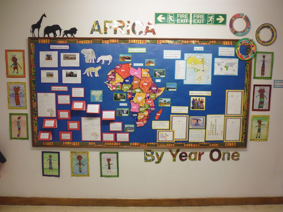 Year One Africa Display
