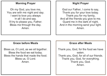 St Bernadette's Catholic Primary Academy - Academy Prayers