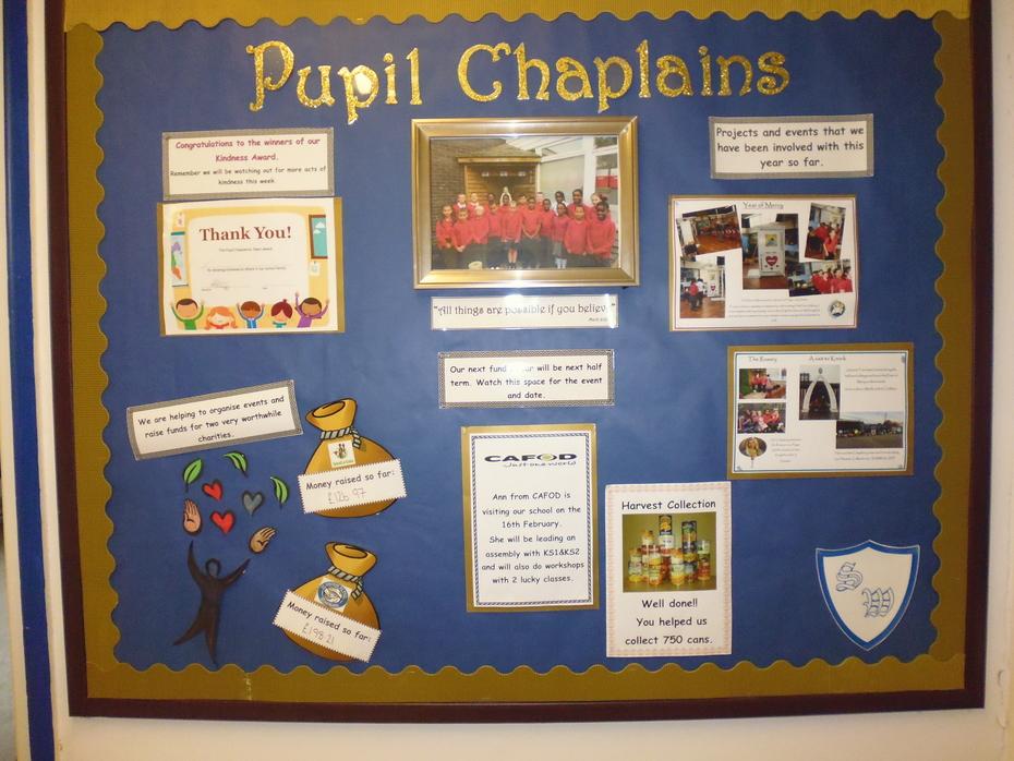 Chaplaincy Display 2018