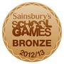 Sainsbury's School Games Bronze Award 2012/13