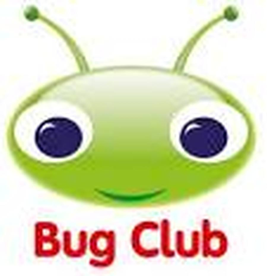 Click on the Bug to access the Bug Club website.