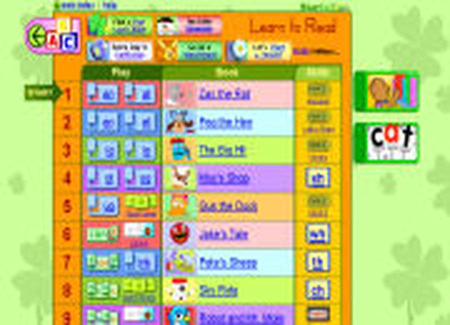 Online adult literacy games