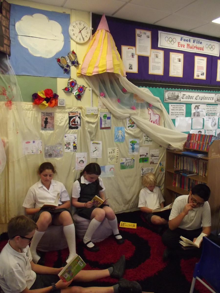 KS2 Reading Area