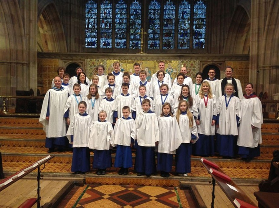 Many of our school children are in the church choir.