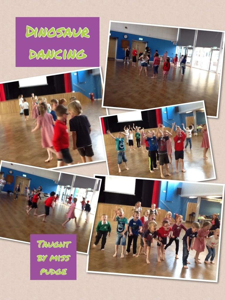 Dino dancing!