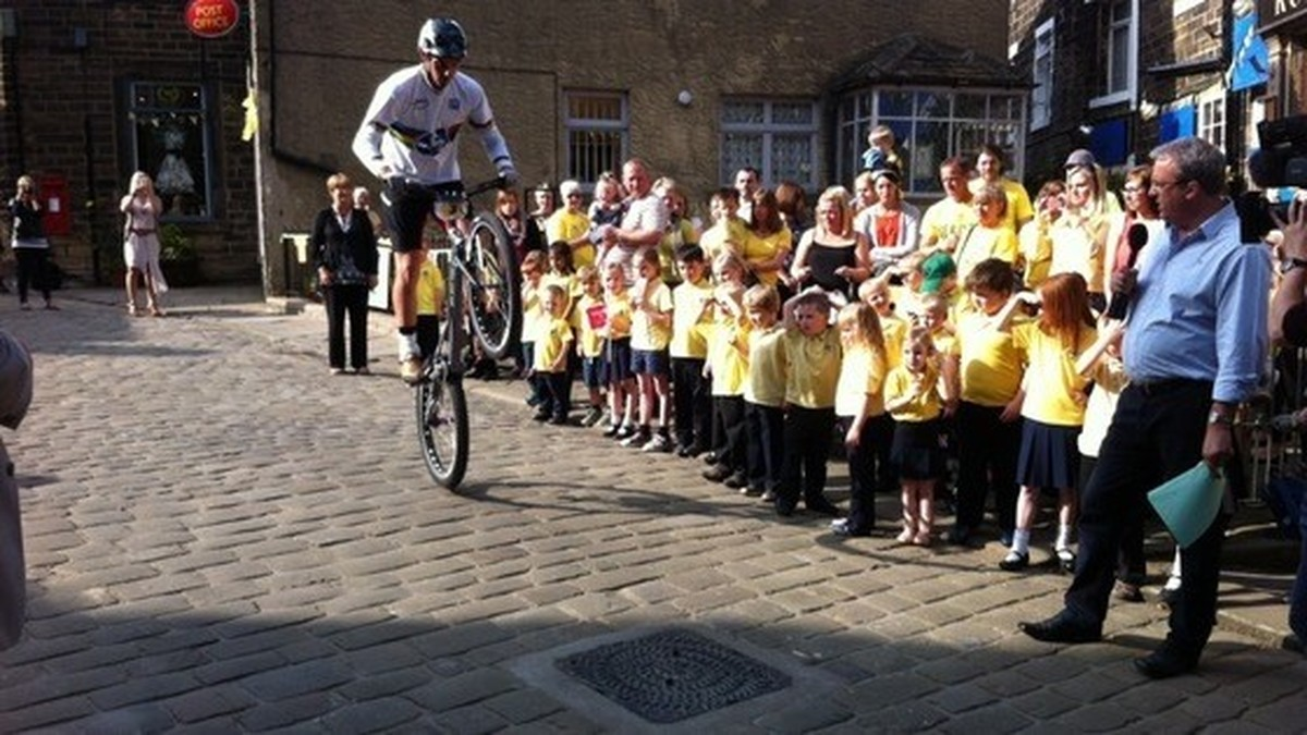 Haworth Primary School Tour De France Cycle Challenge