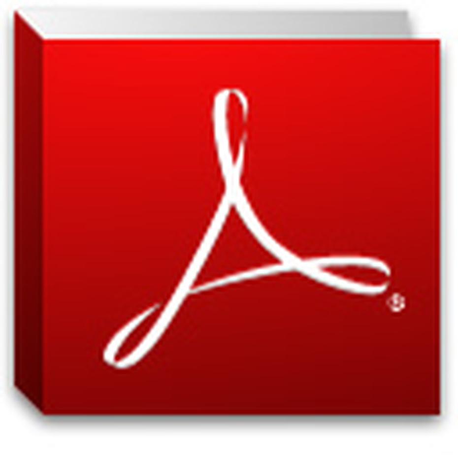 Adobe PDF Reader.