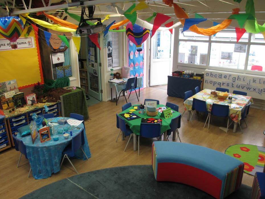 Reception Classroom Design : West rise community infant school eastbourne east sussex