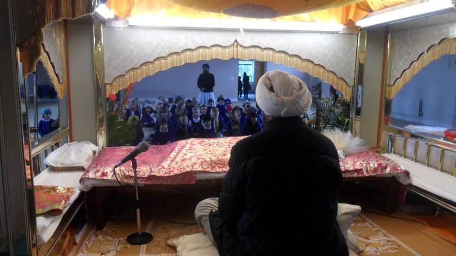 Visit to the Sikh Temple
