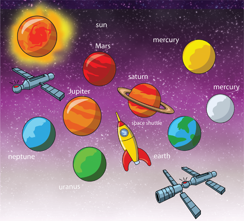 Image result for planets clipart