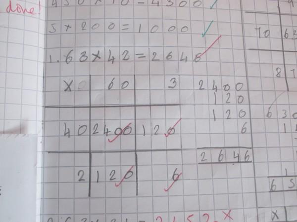 Rush Green Primary School - Written Methods of Multiplication