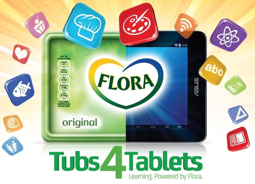 FloraTubs4Tablets
