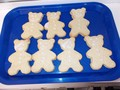 Pudsey biscuits made by Mrs Clarke the school cook