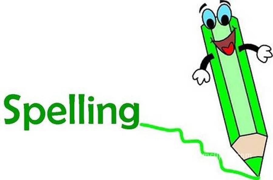 Words and spellings