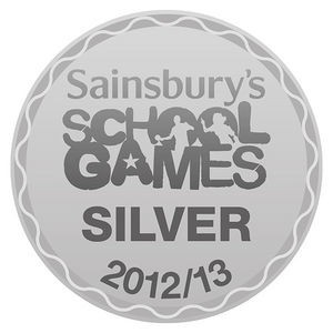Sainsburys school games Bronze award