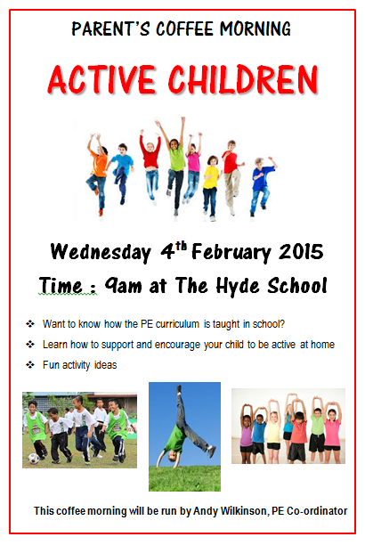 The Hyde School Parent Coffee Mornings