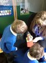 Miss Tudor helps us to create our own stories.