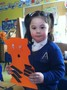 As part of our 'The Tiger who came to Tea' story café, we made our own tigers!