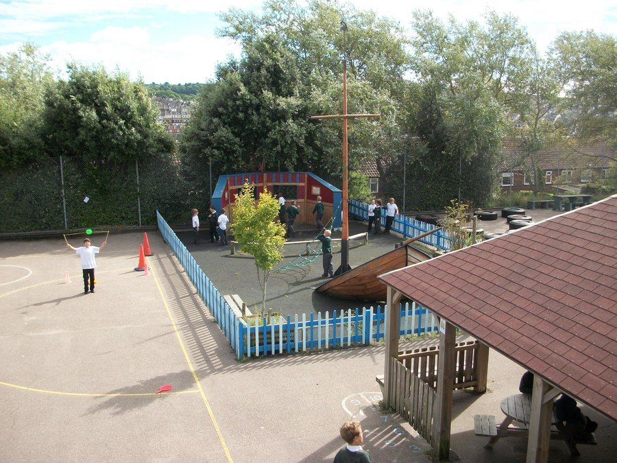 Our spacious playground