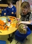 Our Mums and Dads helped us make our tigers.