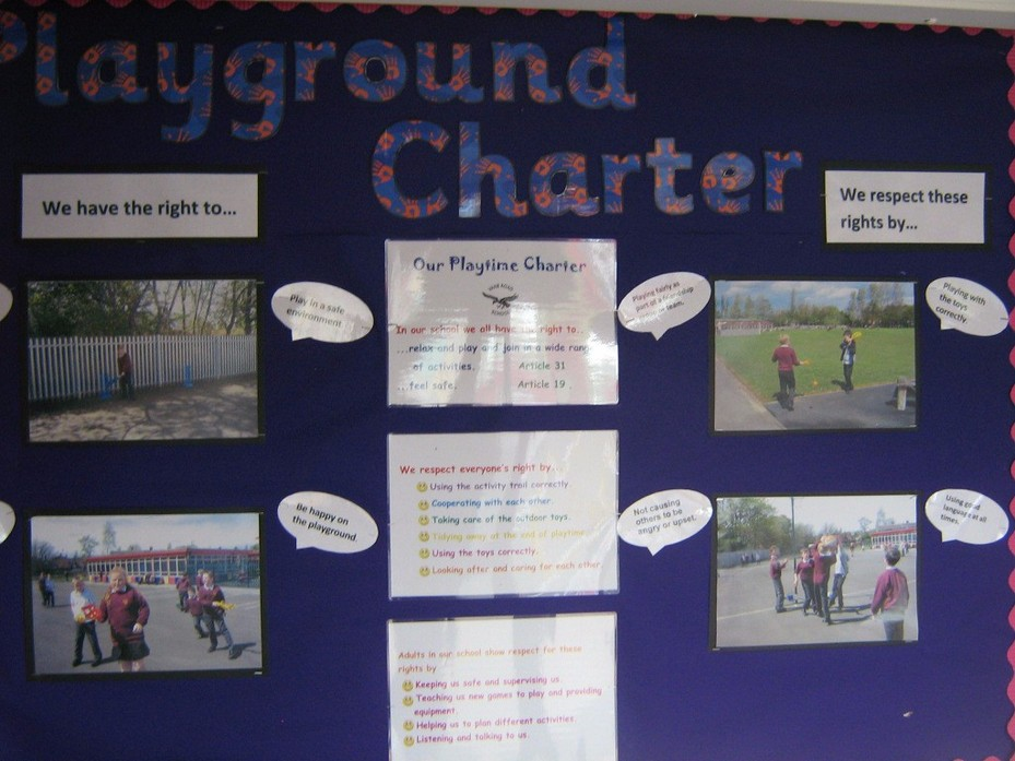 Key Stage 2 Playground Charter