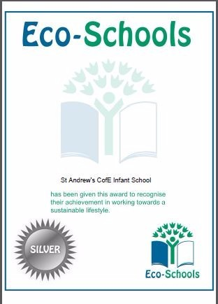 St. Andrew's Eco Schools Silver Award