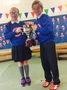 House Captains Receive the Trophy