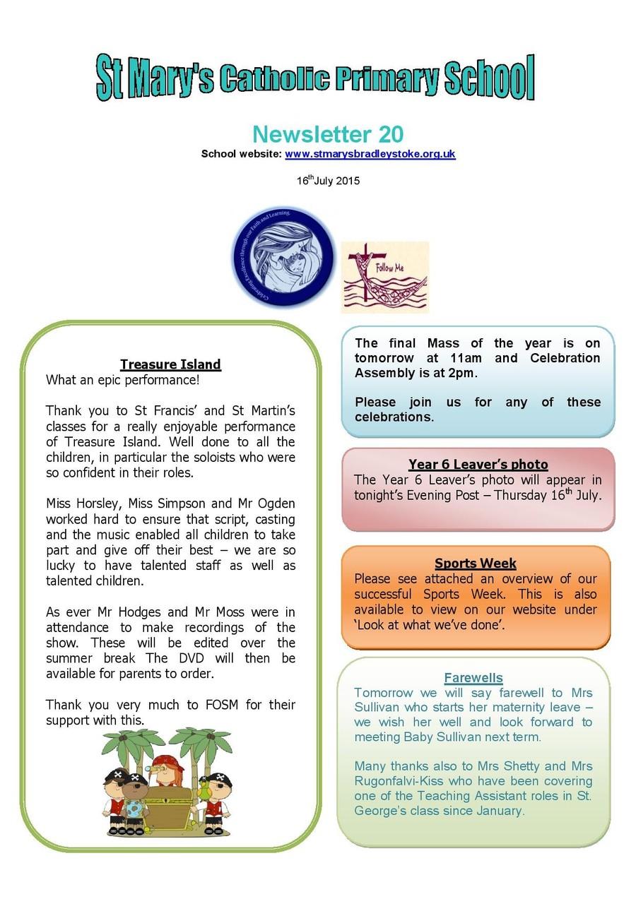 Newsletter 20