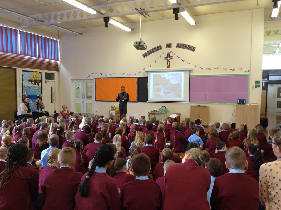 "Our ""Welcome Back"" assembly - Wednesday 1st September"