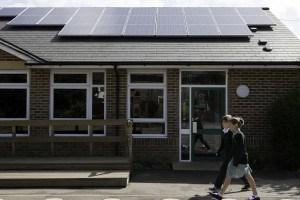 Millennium Block Solar Panels