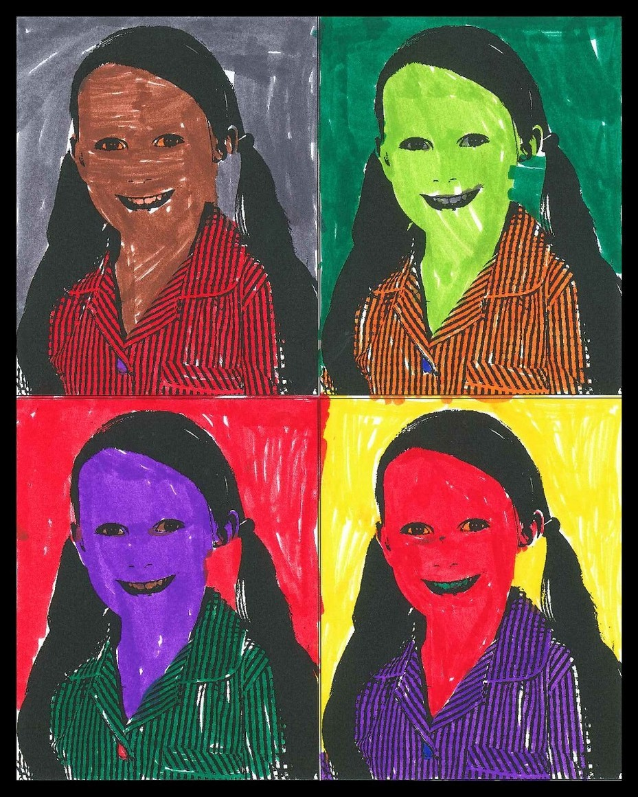Year 1 Pop Art