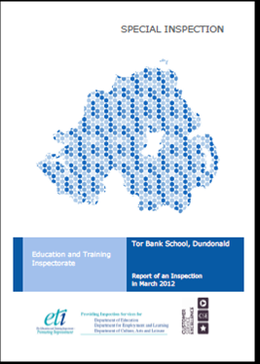 School Inspection Report from March 2012