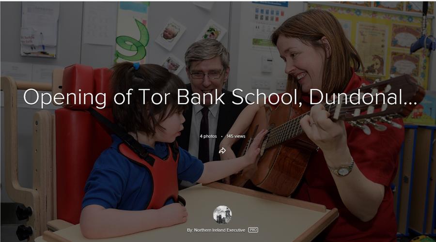 Opening of Tor Bank, Northern Ireland Executive Official Photos