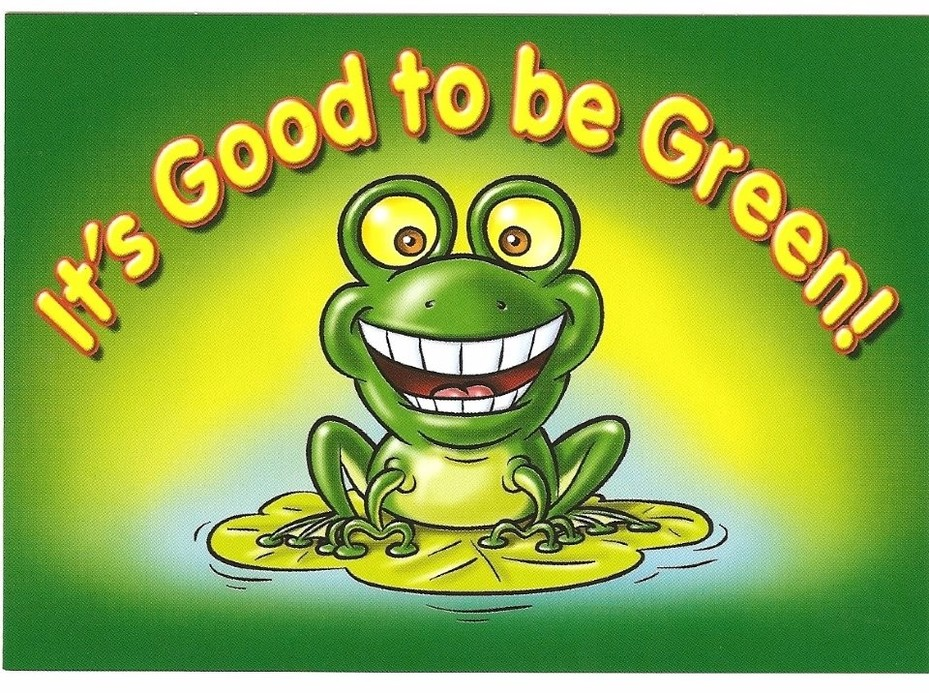 Good To Be Green