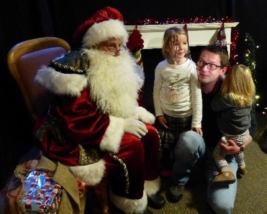 Santa at the Christmas Fair