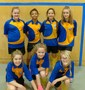 Year 7 Girls     Indoor Football Third in Group