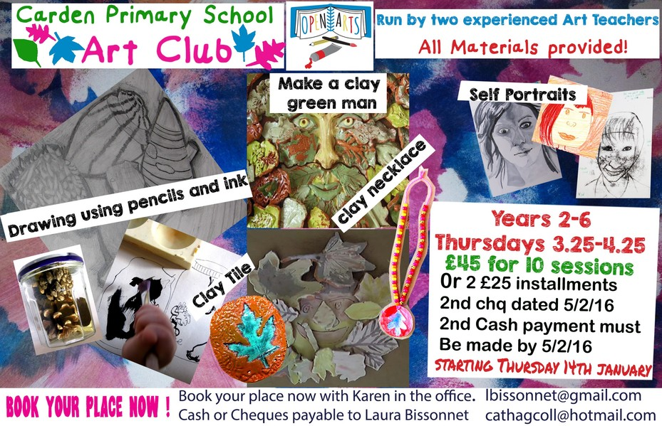 Art Club Flyer
