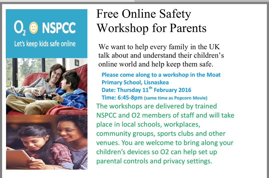 NSPCC O2 Parents Workshop