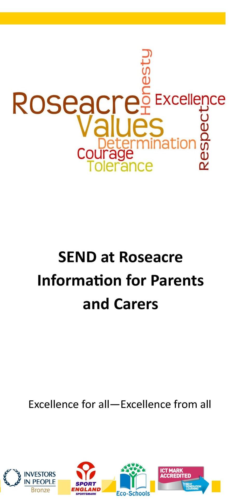 SEND Provision Leaflet