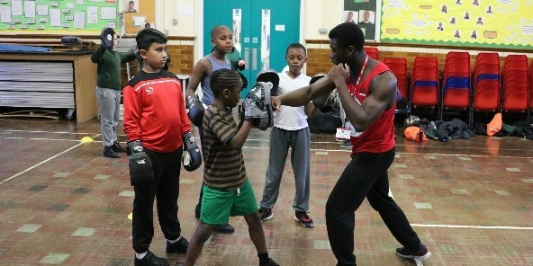 Latest News - Boxing club at BHPPS
