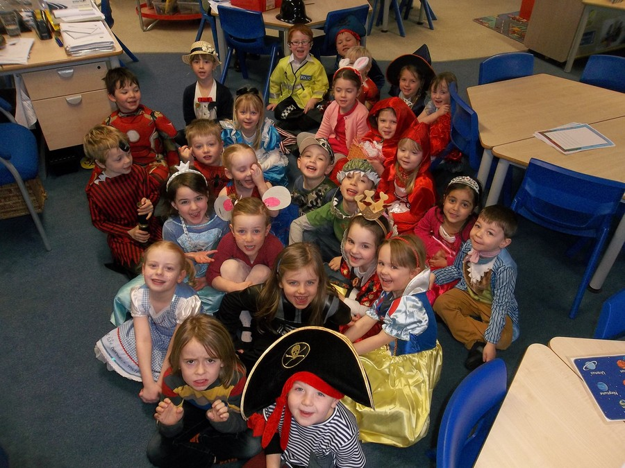 We celebrated World Book Day.