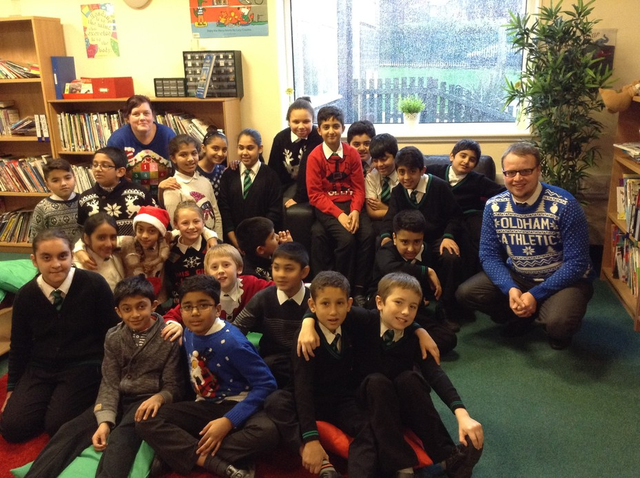 Christmas Jumper Day Y5